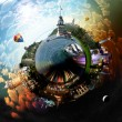 Planet Istanbul - Stock Photo