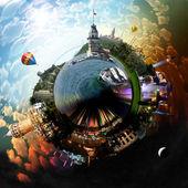 星球伊斯坦布尔 — 图库照片