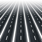 Roads to infinity — Stock Photo