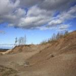 maestose dune di orso addormentato — Foto Stock
