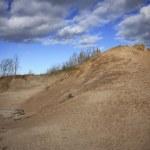 Hiking Sleeping Bear Dunes National Lakeshore Michigan — Stock Photo