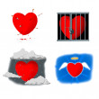 Heart atack 1 — Stock Photo