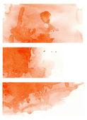 Ensemble rouge aquarelle — Photo