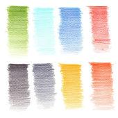 Bleistift Farbtextur — Stockfoto
