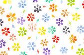 Wartercolor flowers — Stock Photo