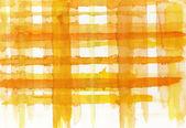 Orange and yellow watercolor lines — Stock fotografie