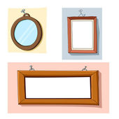 Cartoon frames — Stock Vector