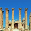 Stock Photo: Jerash Temple of Artemis