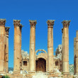 Jerash Temple of Artemis — Stock Photo