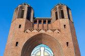 Kreuzkirche facade — Stock Photo