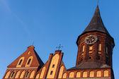 Cathedral, Kaliningrad — Stock Photo