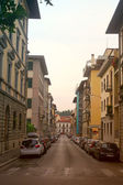 Florence street city landscape — Stock Photo