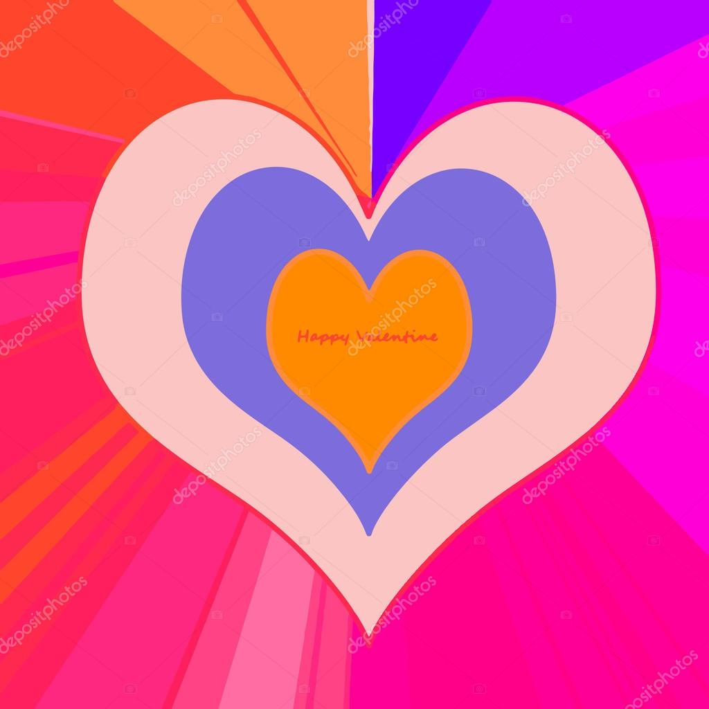 Heart dedicated to lovers in Valentine's Day — Stock Vector #19838747
