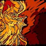 Phoenix — Vector de stock