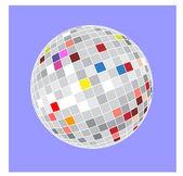 Ball strobe — Vector de stock