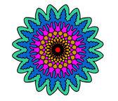 Colorful fractal — Stockvector