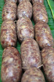 Thai liver pork sausage (Mum moo) — Stock Photo