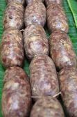 Thai liver pork sausage (Mum moo) — Stock Photo
