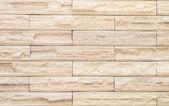 Béžové cihlová zeď design jako texturu pozadí malty — Stock fotografie