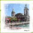 Navy Pier Artwork — Stock Photo #31670255