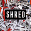 Shred Text — Stock Photo