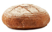 A loaf of bread dusted with flour — Stock Photo