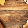 Royalty-Free Stock Photo: Vintage wooden background