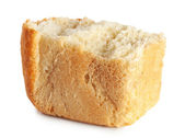 Break up a loaf of bread — Stock Photo