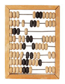 Vintage counting abacus — Stock Photo