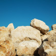 Stock Photo: Large boulders