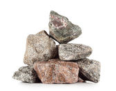 Pile of granite stones — Stock Photo