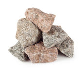 Pyramid of granite boulders — Stock Photo