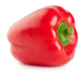 Fresh red bell pepper — Stock Photo