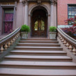 Brownstone Brooklyn — Stock Photo