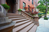 Brownstone Brooklyn — Stock Photo