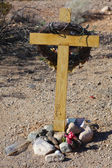 Highway Memorial Along Route 66 — Stock Photo
