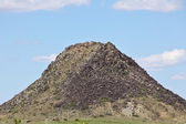 Hilltop Along US 66 in New Mexico — Stock Photo