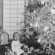 First Christmas - Foto Stock