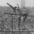 Stock Photo: Gymnastic competition at Olympics
