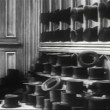 Rows of top hats — Stock Video