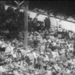 Wide shot of spectators at the Indy 500 — Stock Video