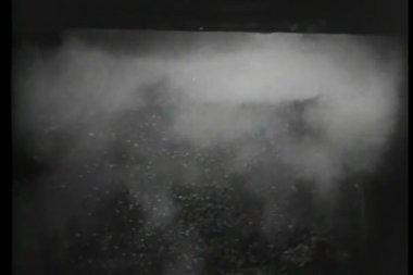 Explosión en túnel de la mina — Vídeo de Stock