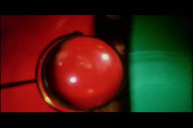 Kolorowe światła przędzenia — Wideo stockowe