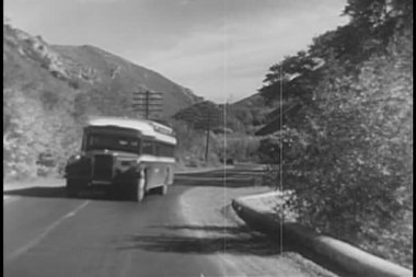 1940s transportation montage — Stock Video
