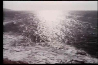 High angle view of seashore — Stock Video