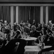 1940s, audience in nightclub applauding — Vídeo Stock