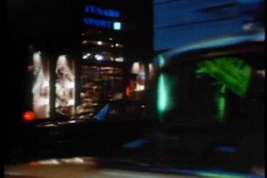 从动车的店面的视图 — 图库视频影像