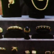 Zoom out jewelry store display — Video Stock