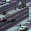 Aerial view of Las Vegas in the 1970s — Stock Video
