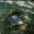 High angle view of grave — Video Stock
